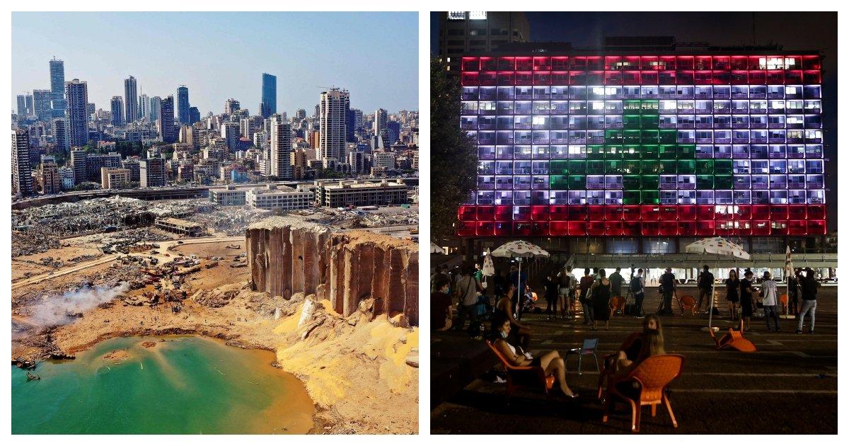 collage 15.jpg?resize=412,232 - Israel Shows Solidarity For Lebanon Despite Their Hostile Diplomatic Relations