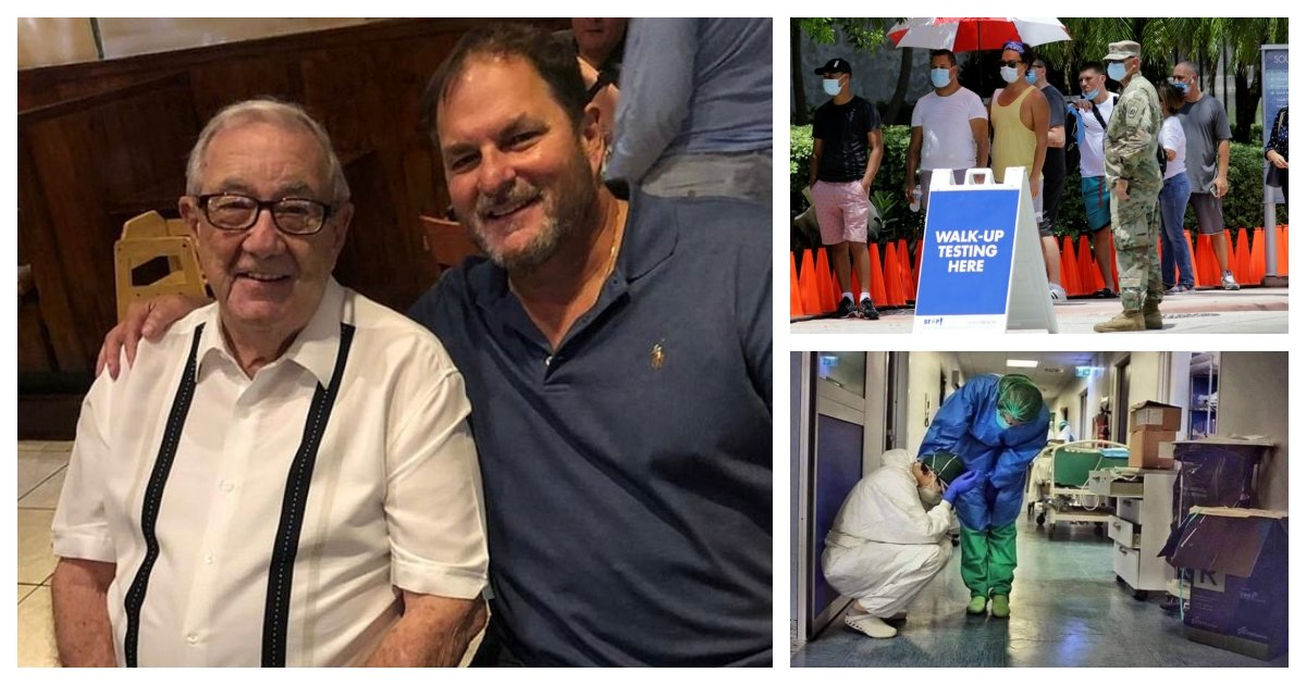 collage 31.jpg?resize=412,232 - Father And Son, Both Doctors in Florida, Passes Away After Being Hospitalized On the Same Day
