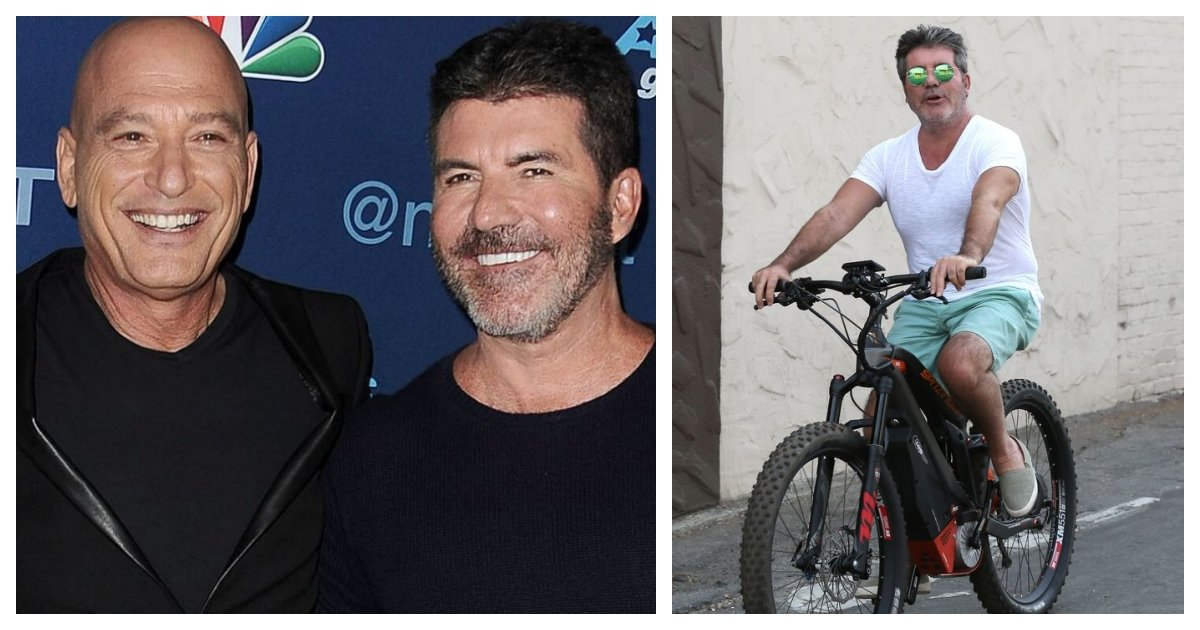 """collage 35.jpg?resize=1200,630 - Howie Mandel Says Simon Cowell May Return To """"America's Got Talent"""" Despite His Back Injury"""
