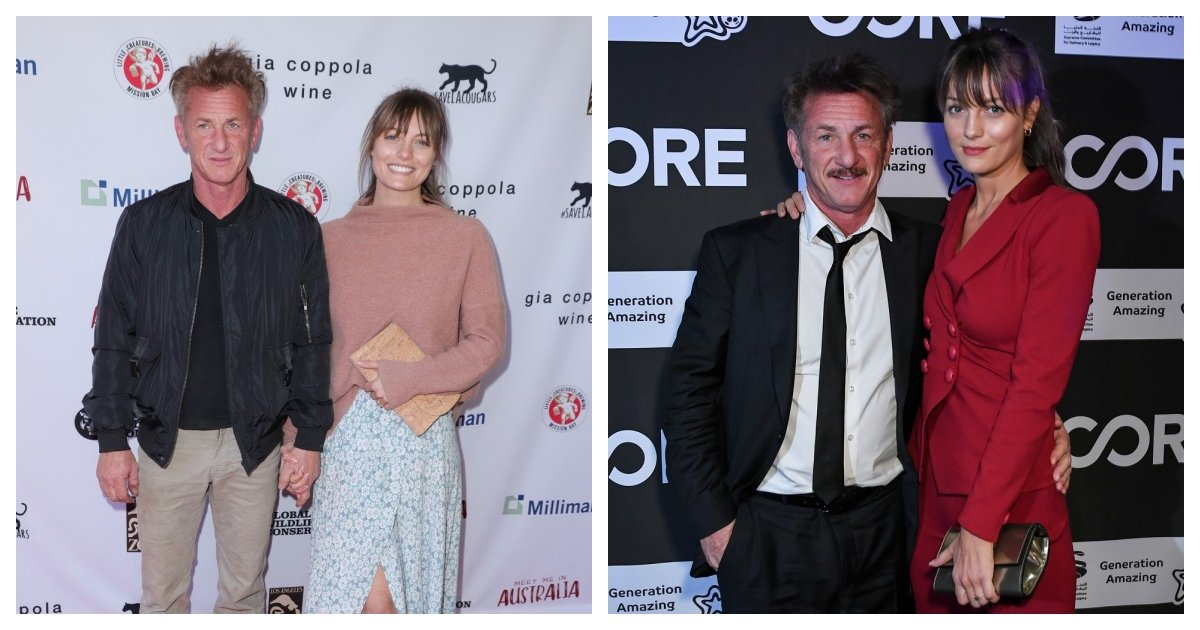 collage 4.jpg?resize=412,232 - Sean Penn Reported As Marrying Leila George, His Girlfriend 31 Years His Junior