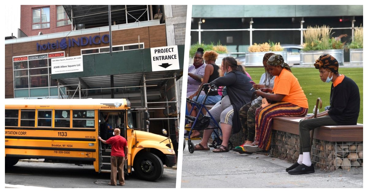 collage 59.jpg?resize=1200,630 - NYC Continues To Use Luxury Hotels As Homeless Shelters As Residents Get Weary