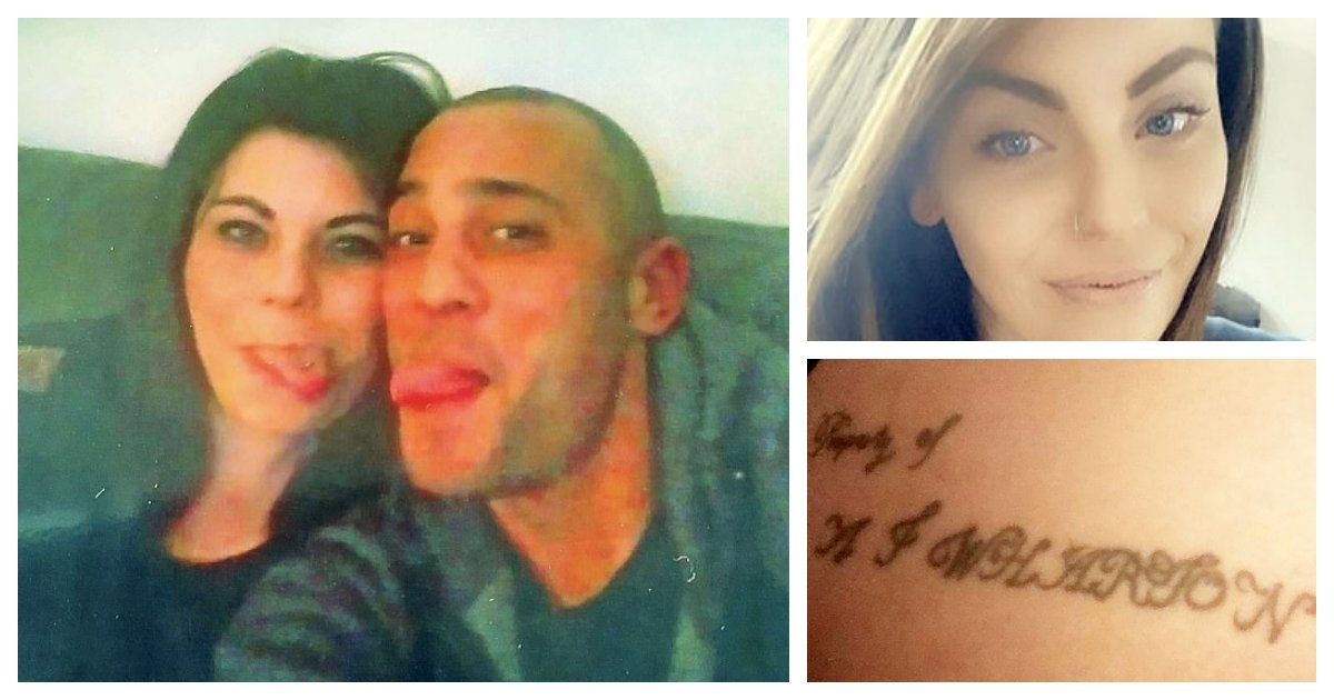 collage 70.jpg?resize=1200,630 - Boyfriend Sent To 21 Months In Prison For Abuse And Forcing 9 Tattoos On To His Girlfriend