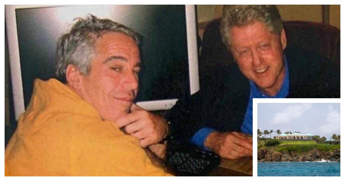 collage.jpg?resize=1200,630 - Woman Claims Former President Bill Clinton Was A Guest of Jeffrey Epstein On Epstein's Island