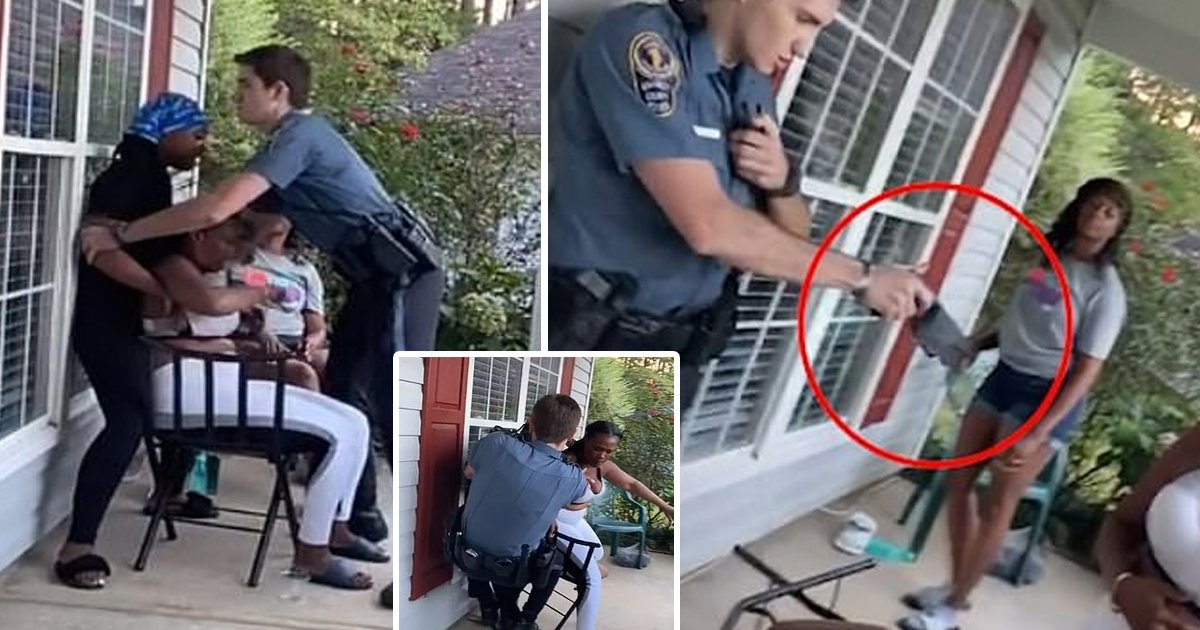 cop.jpg?resize=412,232 - Georgia Cop Brutally Detains Black Woman, Fires Taser Before Violent Arrest