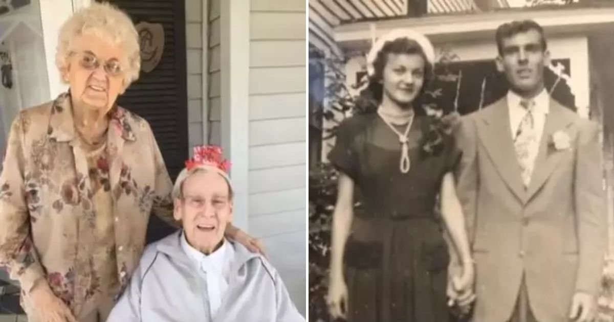 couple5.jpg?resize=1200,630 - Wife Dies Of A Broken Heart Only Moments After Husband Of 70 Years Passed Away