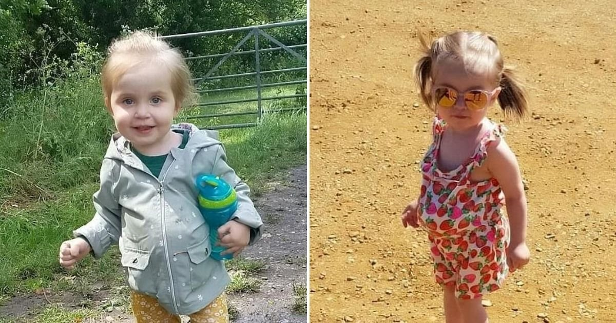 cute.jpg?resize=412,232 - Young Girl Who Was Born With Stomach, Bowel And Liver Outside Her Body Defies The Odds