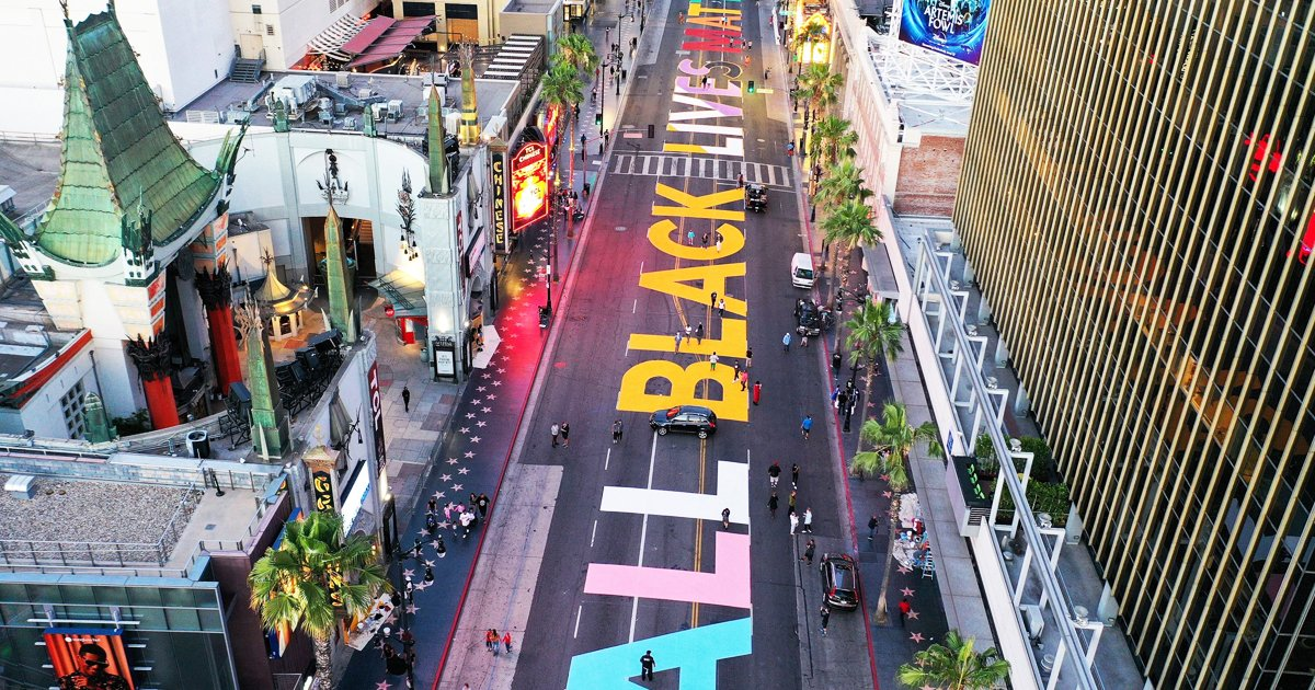 dfas.jpg?resize=412,232 - Los Angeles Gears Up For Permanent Black Lives Matter Mural On Hollywood Boulevard