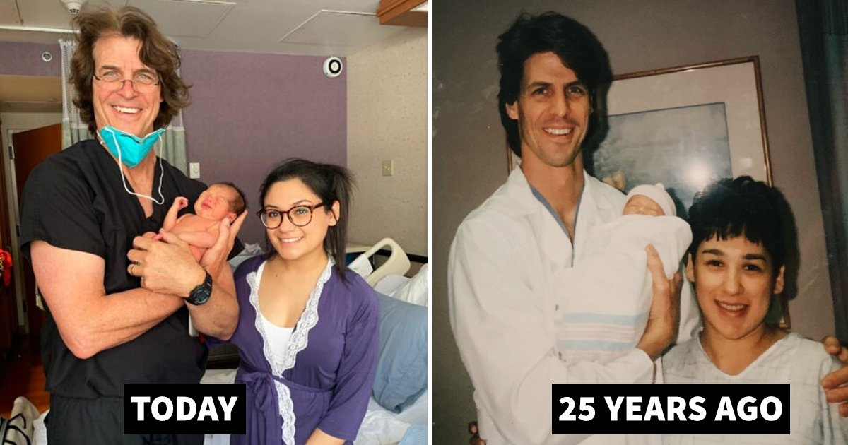 doctor.jpg?resize=1200,630 - Doctor Delivers A Baby 25 Years After Delivering His Mom In The Same Hospital