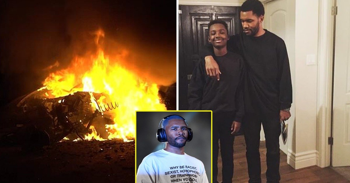 e6565ad7 afd9 4151 b798 3674d4aa471e.jpg?resize=1200,630 - Frank Ocean's Younger Brother Dies After Slamming Into Tree Amid Fiery Car Collision