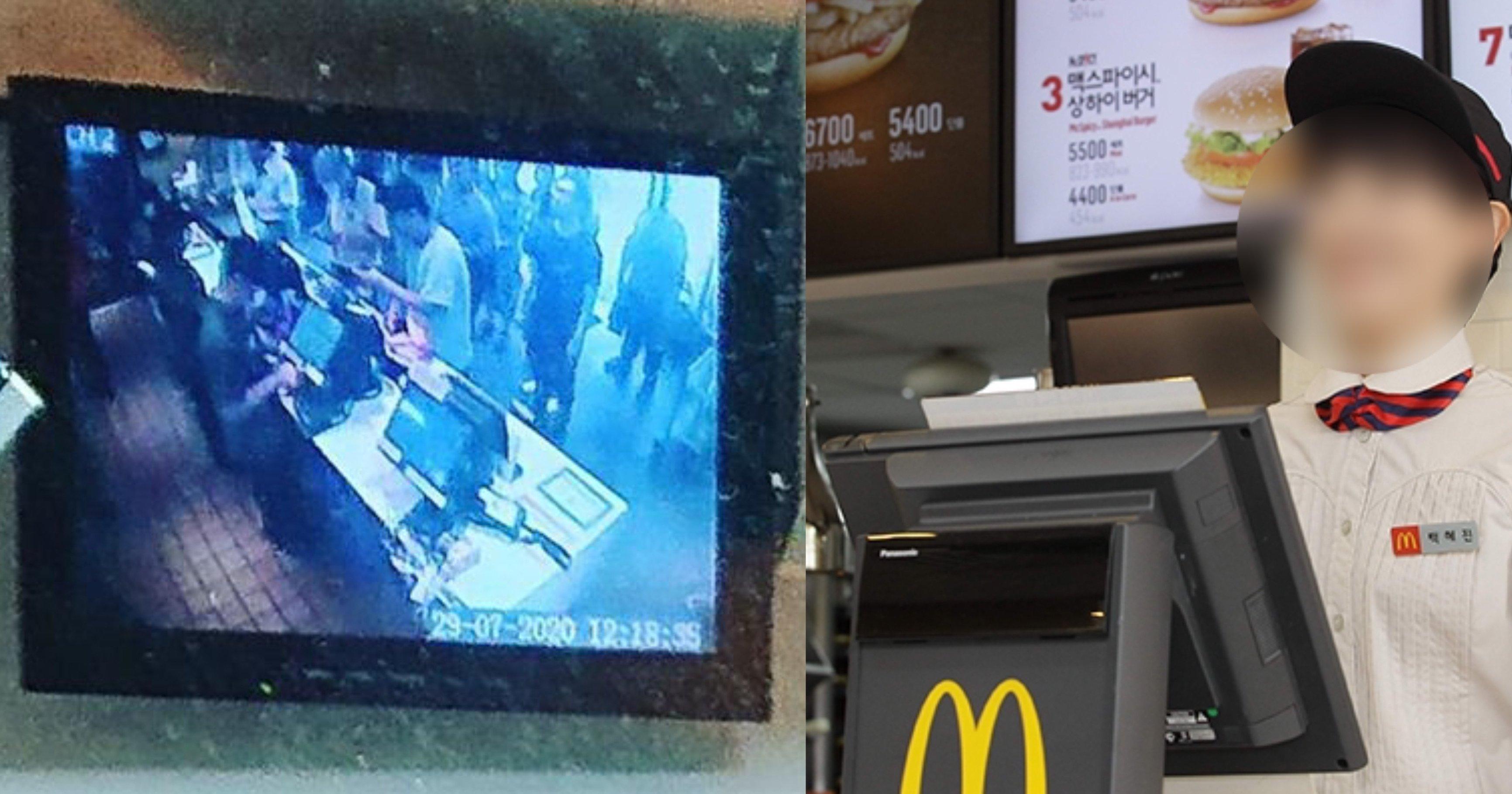 """eba7a5eb8f84eb82a0eb939c ec8db8eb84ac.jpg?resize=1200,630 - """"내가 지금 뭘 보고 있는 거지?...""""...매장에 손님 많은 것처럼 실시간 CCTV 조작한 맥도날드 알바생"""