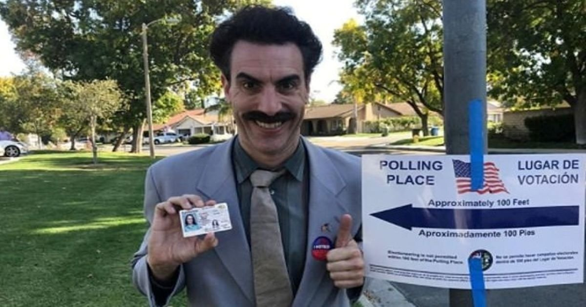 ec8db8eb84ac 2 18.jpg?resize=412,232 - Sacha Baron Cohen Is Filming Another 'Borat' Movie In LA For Comedy Legend Sequel