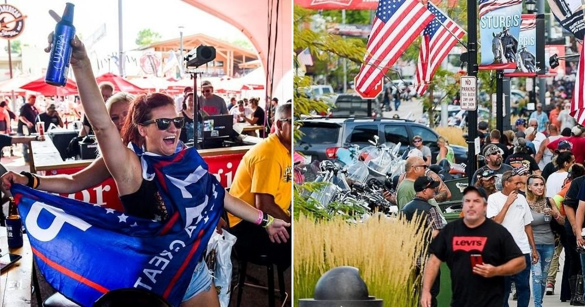 festival5.jpg?resize=412,232 - Thousands Of Bikers Gathered For The Annual Sturgis Motorcycle Rally, Sparking COVID-19 Concerns Among Residents