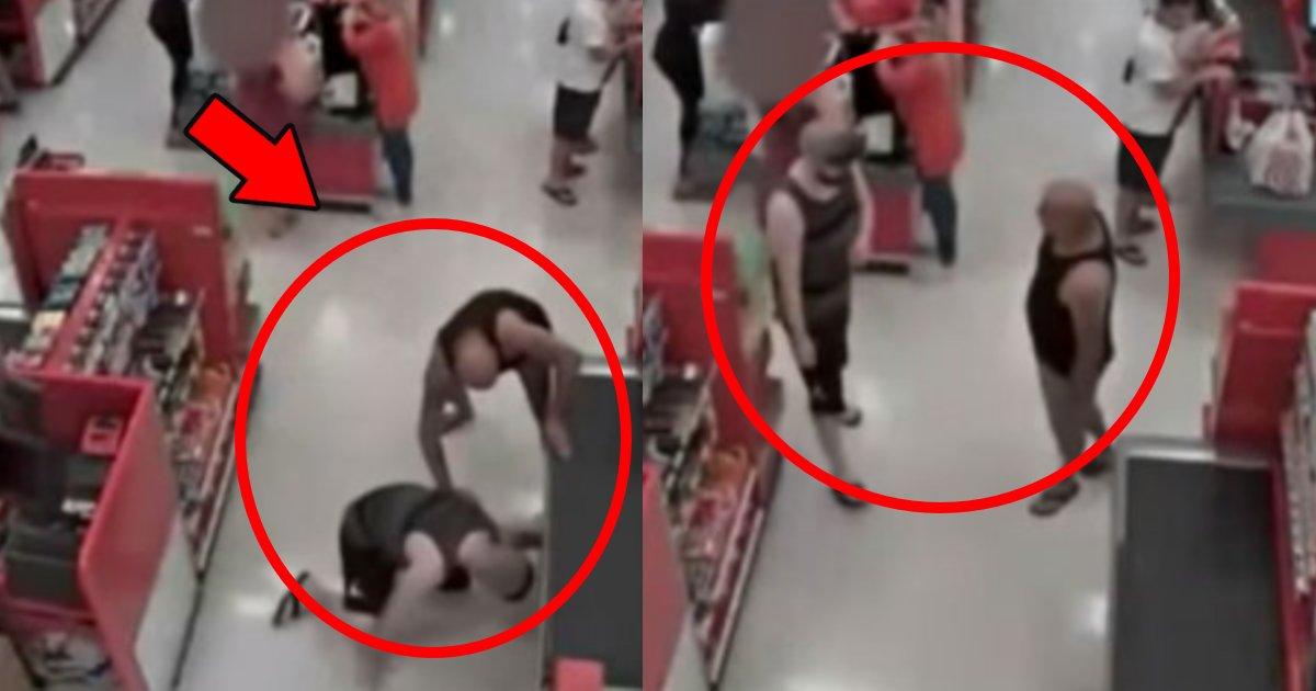 gatai.png?resize=412,232 - マッチョの父親が近くにいることに気づかず中学生の娘のスカートの中を盗撮した男の顛末がヤバい…