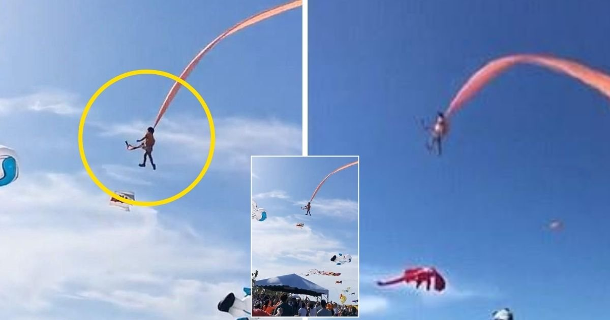 girl5.jpg?resize=1200,630 - 3-Year-Old Girl Lifted 100 Feet Into The Air By A Giant Kite During Festival