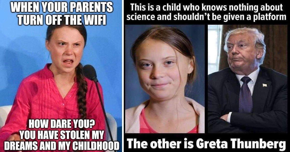 greta thunberg.jpg?resize=412,232 - 10 Funniest Greta Thunberg Memes We All Can Relate To In Real Life