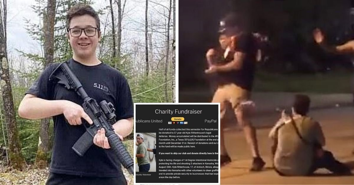 kyle7.jpg?resize=1200,630 - Group Launched Fundraiser To Pay Legal Expenses Of 17-Year-Old Who Shot Two Protesters In Kenosha