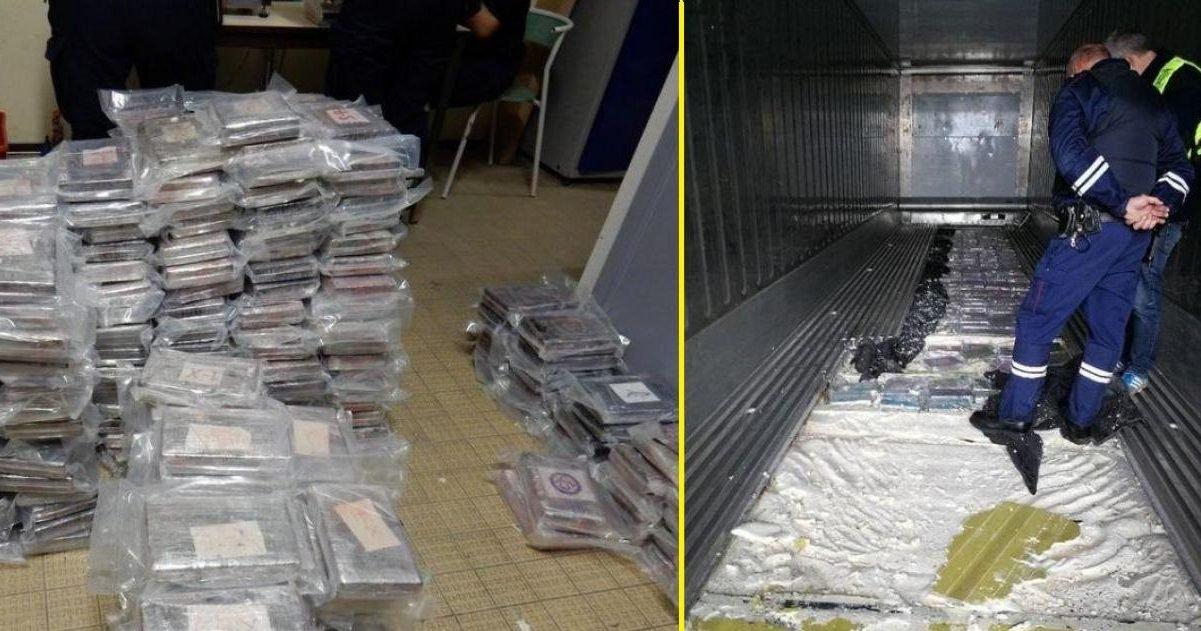 la voix du nord 1 e1596708992106.jpg?resize=1200,630 - Nord : 1,3 tonnes de cocaïne découvert dans des sacs de riz