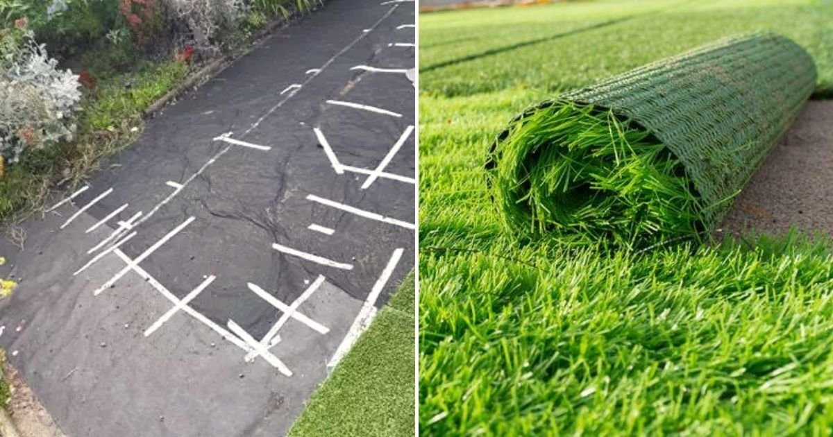 lawn3.jpg?resize=412,232 - 62-Year-Old Woman Woke Up Only To Find Her Lawn Missing From Their Garden