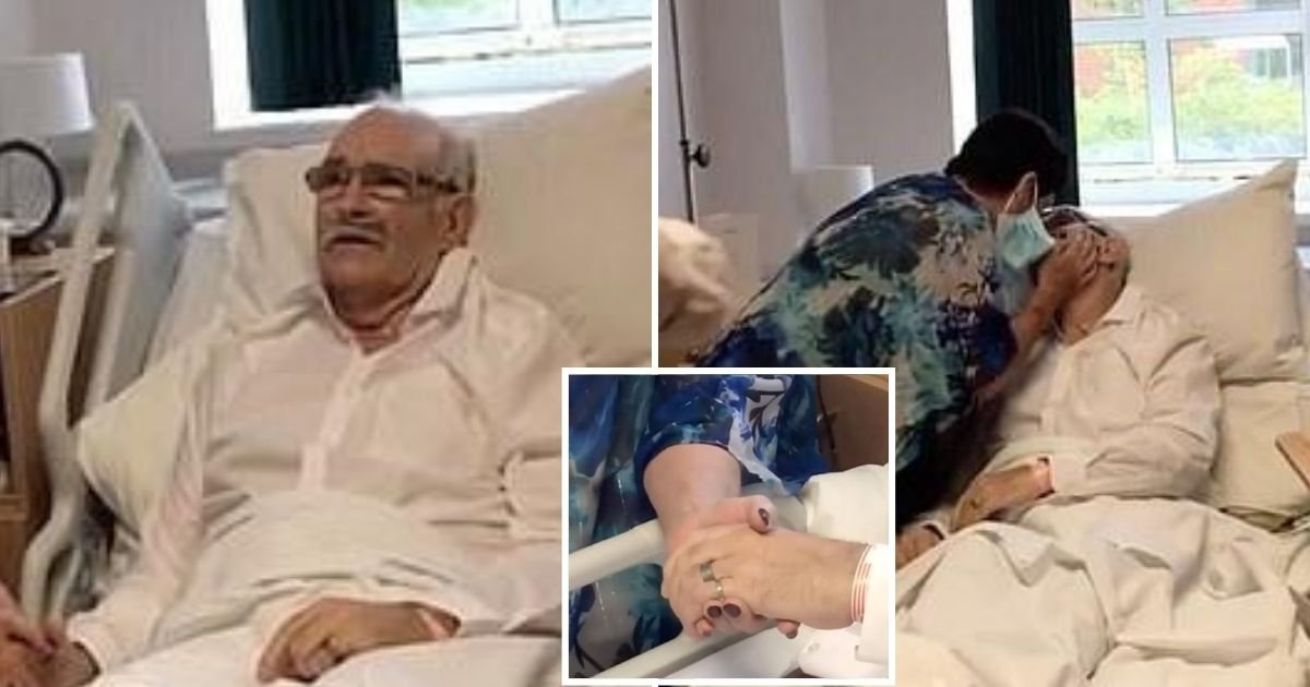 marry5.jpg?resize=412,275 - Couple Ties The Knot At Hospital Days After 68-Year-Old Man Was Told He Has Terminal Disease