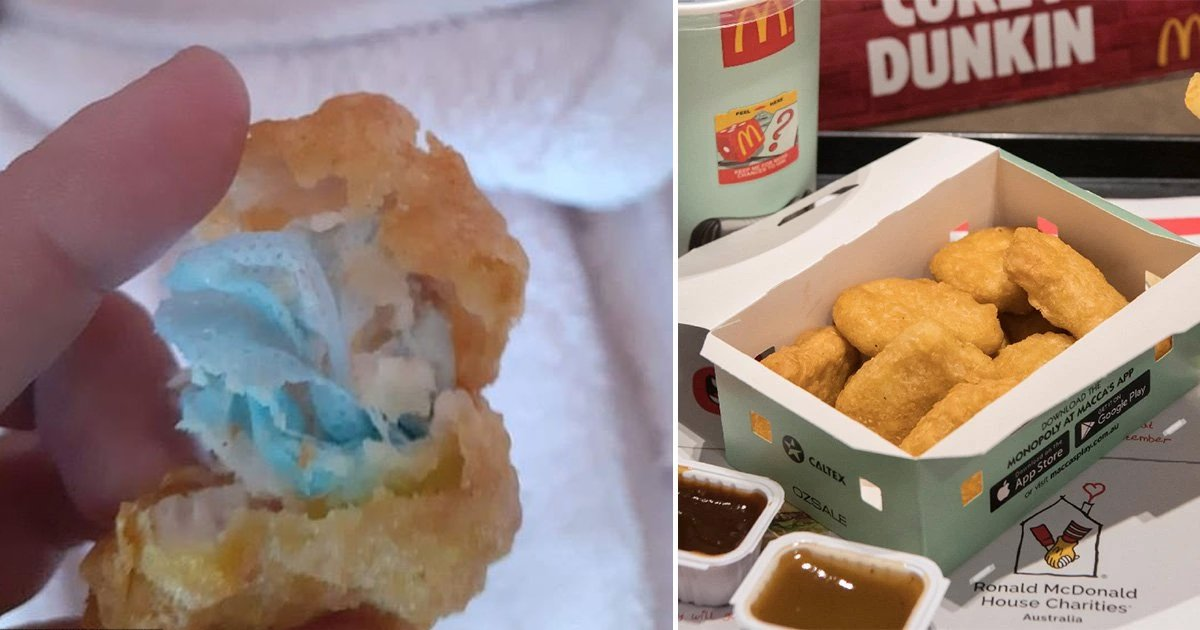 mcdonalds.jpg?resize=412,232 - Six-Year-Old Girl Chokes On 'Face Mask' Buried Inside McDonald's Chicken Nuggets