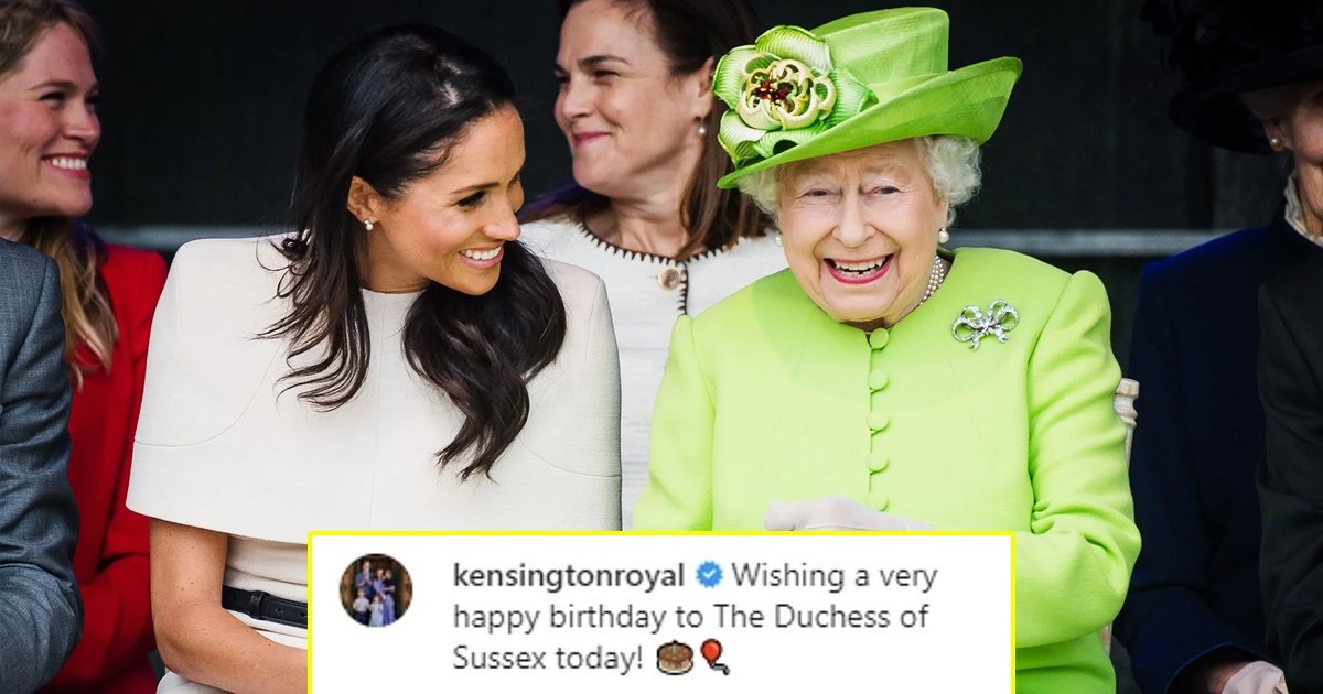megan.jpg?resize=1200,630 - Queen And Other Royals Post Heartfelt Birthday Tributes As Meghan Markle Turns 39