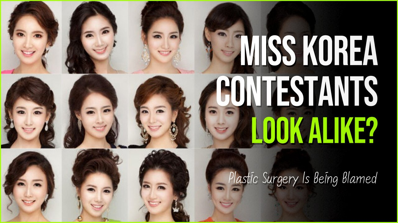 miss korea.jpg?resize=1200,630 - Viral Pictures Prove Plastic Surgery Made Miss Korean 'Clones'