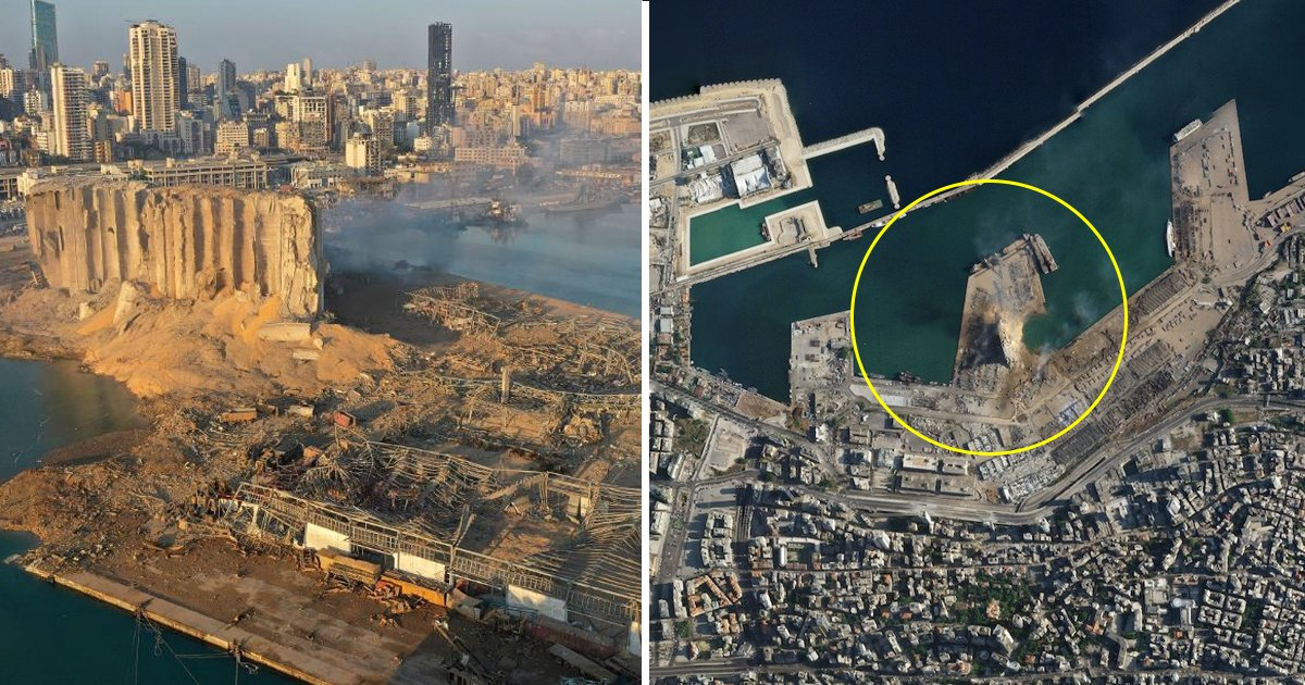 p3.jpg?resize=1200,630 - Satellite Images Of Beirut Explosion Show Massive Crater At Port After The Blast