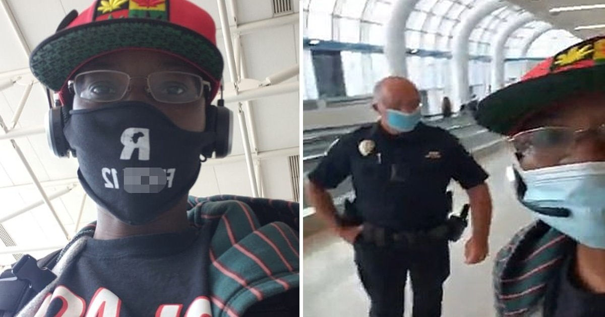 p7.jpg?resize=1200,630 - Disabled Black Female Kicked Out Of American Airlines Flight For Wearing A Mask With Offensive Language