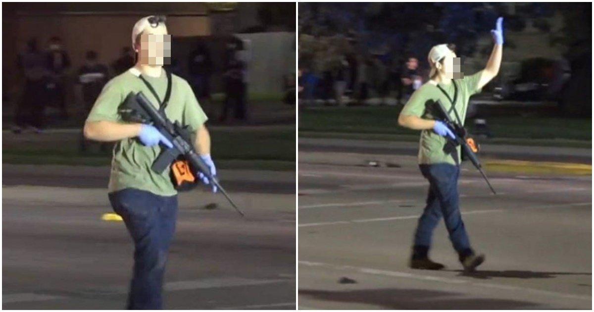 page 224.jpg?resize=1200,630 - 3일 전, 총게임하듯 '흑인 시위대'를 자동소총으로 마구 쏴대는 10대 소년의 '소름돋는' 표정