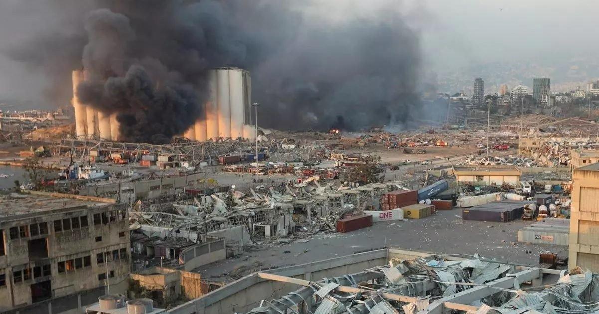 rfi e1596631556172.jpg?resize=1200,630 - Explosions à Beyrouth : 100 morts, 4 000 blessés et 300 000 personnes sans domicile