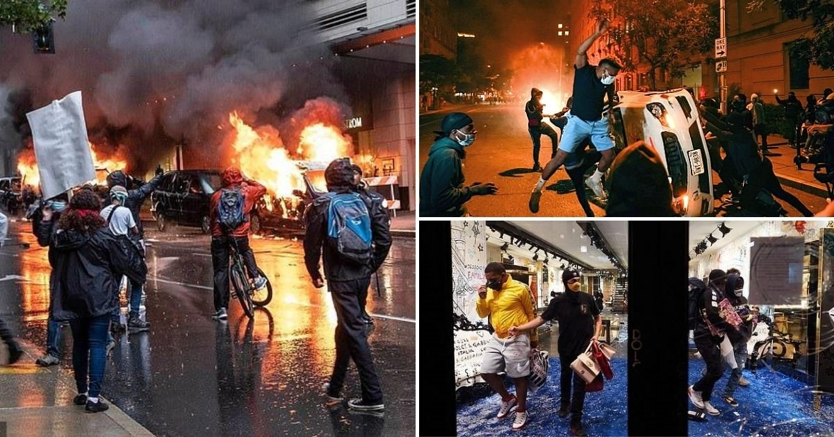 riot7.jpg?resize=1200,630 - Rioters, Looters And Vandals Could Be Stripped Of Unemployment Benefits Under New Bill