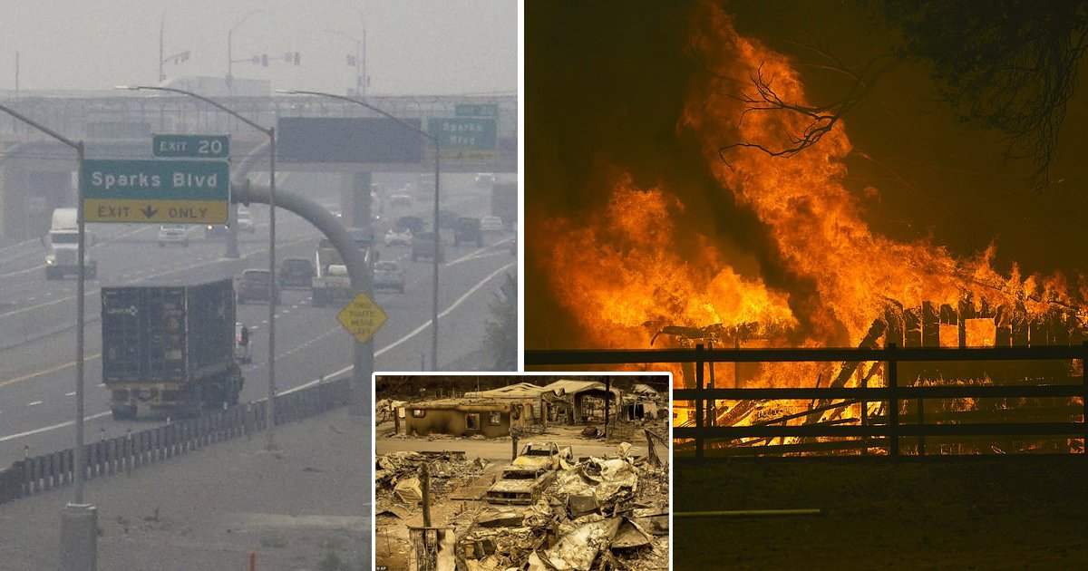 sdfdsg.jpg?resize=1200,630 - California Wildfires Double In Size Killing Five And Burning 771,000 Acres In One Week