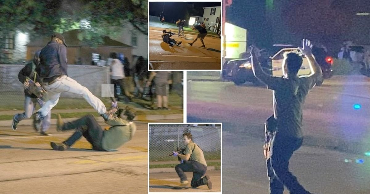 teen.jpg?resize=1200,630 - Teenager Arrested And Charged After Shooting Two BLM Protesters In Kenosha, Wisconsin