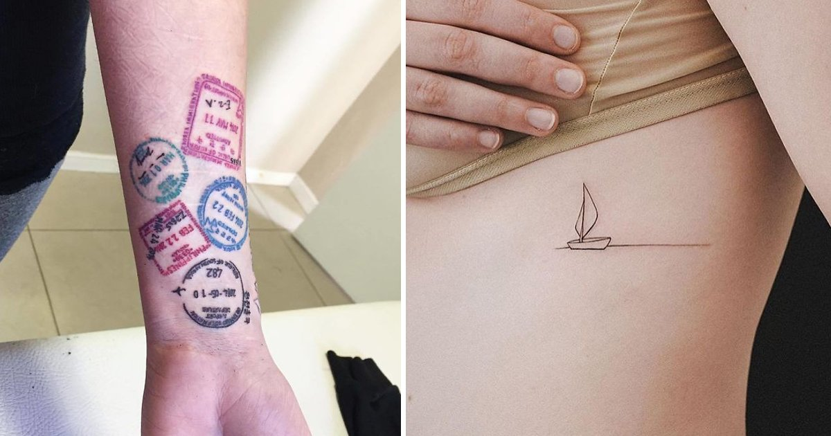 travel tattoo.jpg?resize=1200,630 - 7 Interesting And Unique Travel Tattoo Designs You Must See