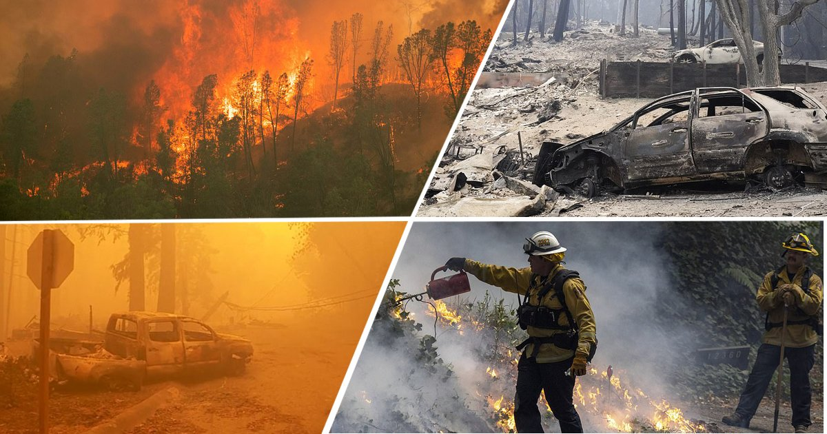 untitled 1da.jpg?resize=1200,630 - Thousands Of California Residents Flee As The State's Largest-ever Wildfires Burned 1.2 Million Acres