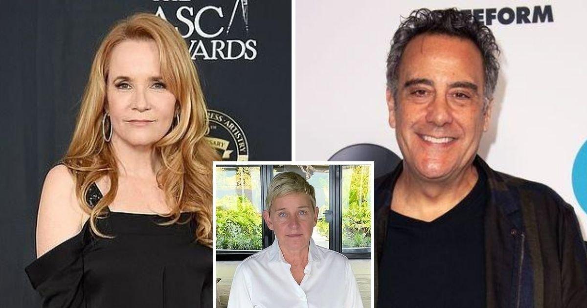 untitled design 1 1.jpg?resize=1200,630 - 'True Story': Lea Thompson Backs Brad Garrett's Claim That Ellen DeGeneres Treats People 'Horribly'
