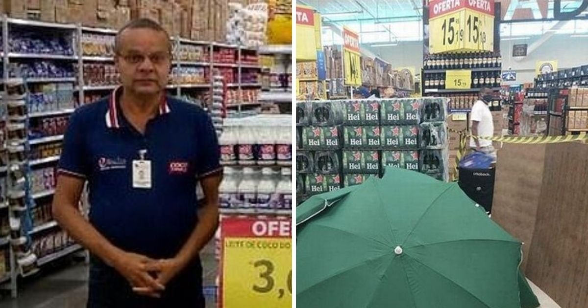 untitled design 1 18.jpg?resize=1200,630 - Store Employees Covered Dead Worker With Umbrellas Before Allowing Shopping To Resume