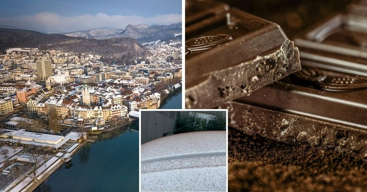 untitled design 3 11.jpg?resize=412,232 - It's Snowing Chocolate! Town Covered In Chocolate After Factory Malfunction