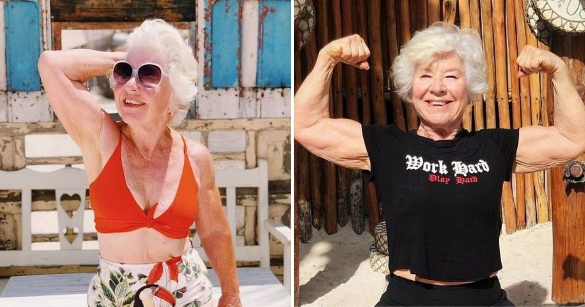 untitled design 3 17.jpg?resize=1200,630 - Grandma Becomes A Fitness Model After Incredible Weight Loss