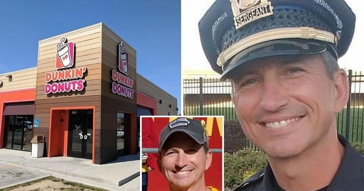 untitled design 7.jpg?resize=1200,630 - Dunkin' Donuts Employees Refused To Serve Off-Duty Police Officer Who Wore A 'Thin Blue Line' Cap