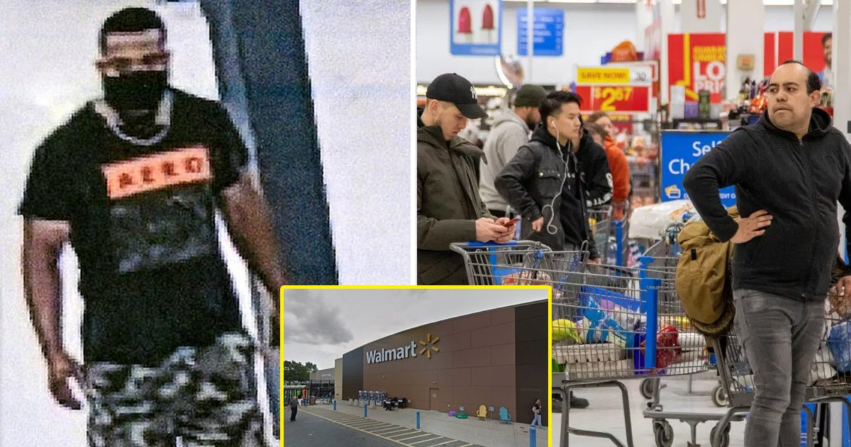 "walmart.jpg?resize=1200,630 - Police Looking For Man Who Gave FREE ""COVID Hugs"" To Walmart Shoppers"