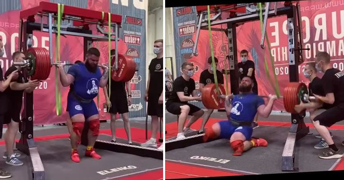 weight lifting.jpg?resize=1200,630 - Russian Weightlifter Fractures Both Knees As '400kg Squat' Goes Horribly Wrong