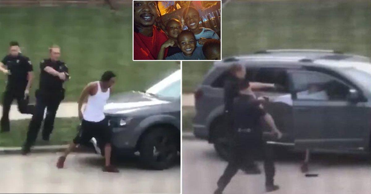 wisconsin shot.jpg?resize=1200,630 - Wisconsin Cops Shoot Black Man 7 Times In Back As Kids Watch In Terror