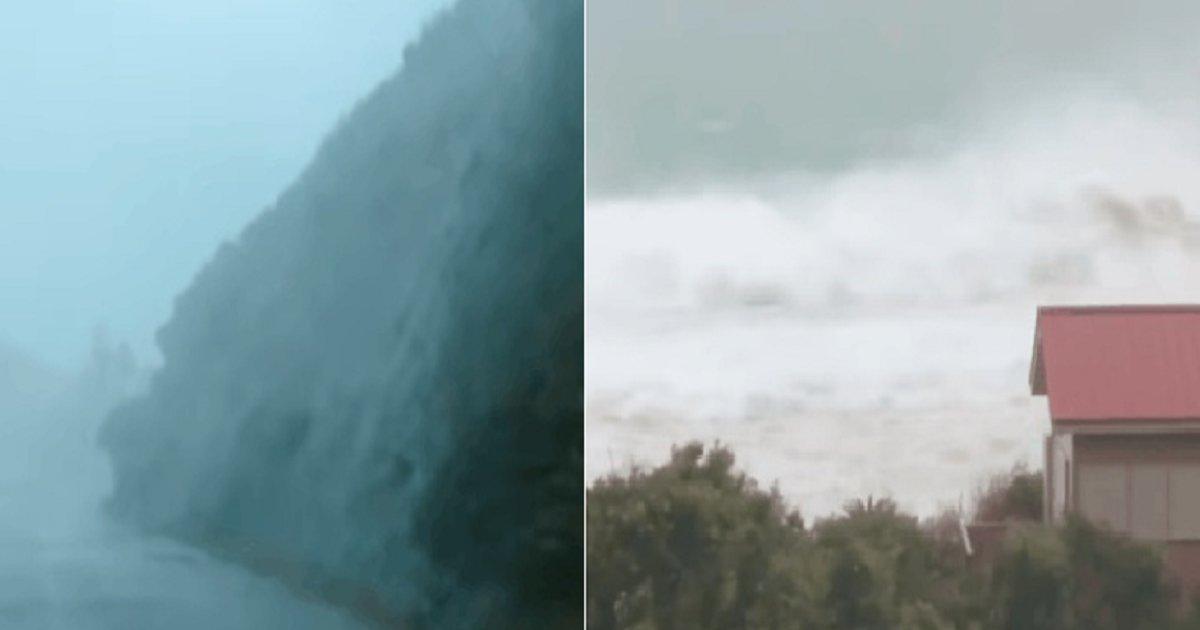 00000000.png?resize=412,232 - 현재 태풍 하이선 근접한 일본 아마이오시마 상황.jpg