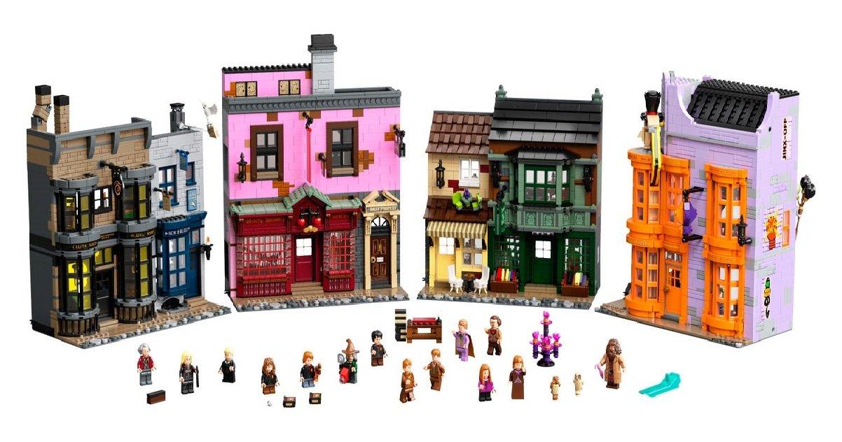 """003.jpeg?resize=1200,630 - Harry Potter: Lego présente son nouveau set du """"Chemin de Traverse"""""""