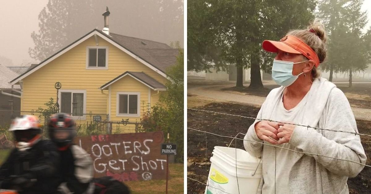 1 131.jpg?resize=1200,630 - Sheriff Says Oregon Residents Are Illegally Stopping Drivers At Gunpoint During Wildfire Evacuations