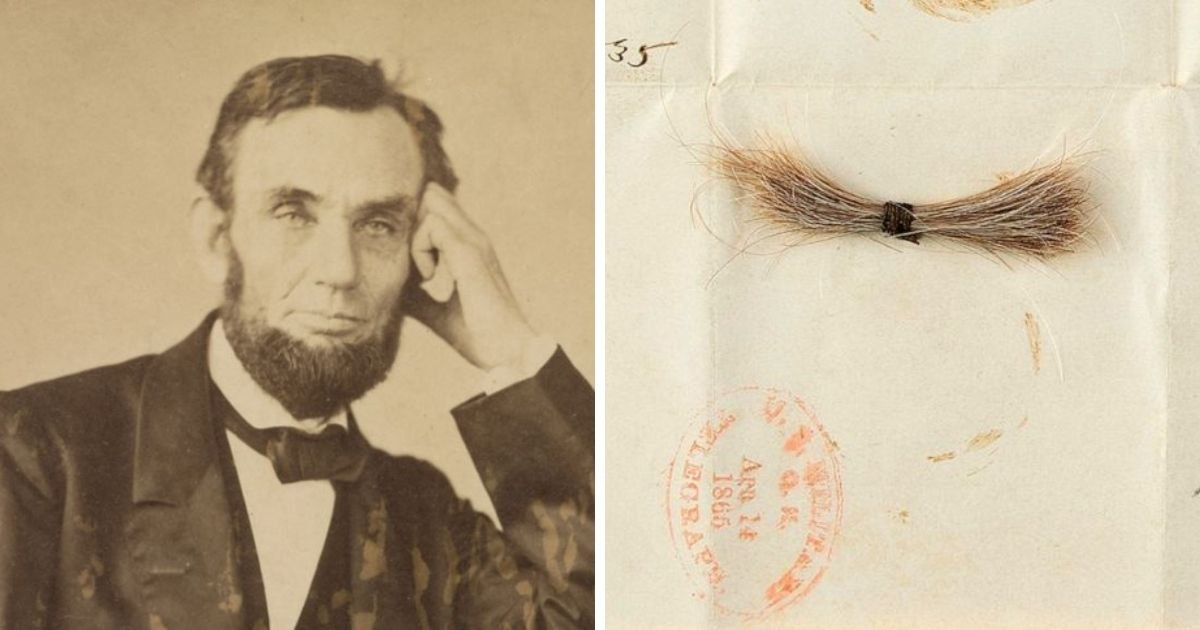 1 132.jpg?resize=1200,630 - President Abraham Lincoln's Lock Of Hair Sold For More Than $81,000 At Auction