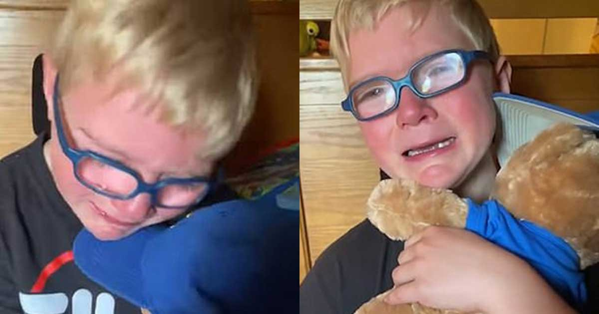 1 158.jpg?resize=1200,630 - Boy Battling Leukemia Breaks Down After Hearing Late Granddad's Voice
