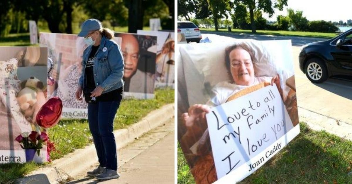 1 17.jpg?resize=1200,630 - A Park In Detroit Transformed To A Temporary Memorial To The City's COVID-19 Victims