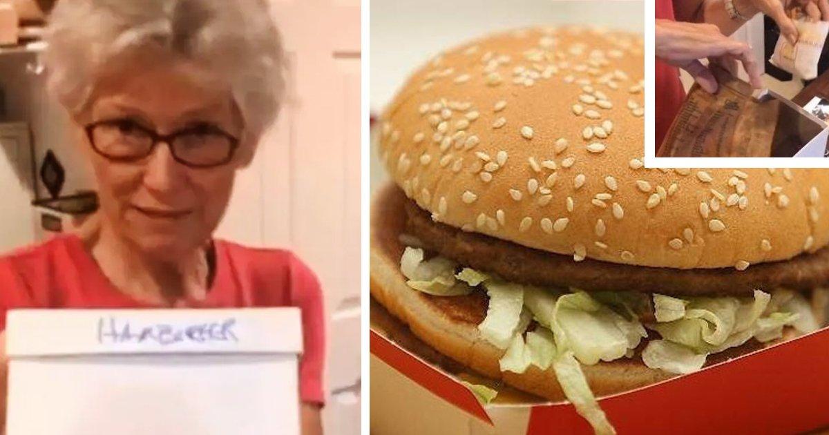 1 6.jpg?resize=1200,630 - Mujer Guardó Hamburguesa Y Papas De McDonald's Por 24 Años Y Muestra Lo Que Encontró